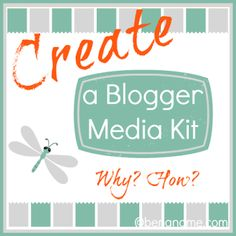 Create a Media Kit for Your #Homeschool Blog -- Why? How? #hsbloggers