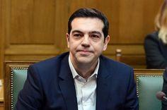 Griechenlands neuer Ministerpräsident Alexis Tsipras am 28. 1. bei der ersten Kabinettssitzung
