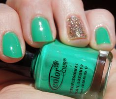 St. Patrick's Day nails / March Nails