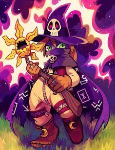 Wizardmon <3 Digimon Adventure by Pixiv Id 5735779 http://www.zerochan.net/Pixiv+Id+5735779