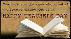 Teachers Day wonderful quotes on girlandworld.com