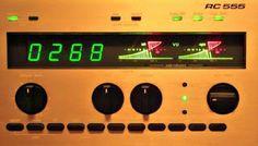 SIEMENS RC 555 display