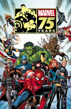 Marvel 75 Years by Greg Land