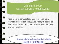 God Idols For Cars 9911006454, 9990402540