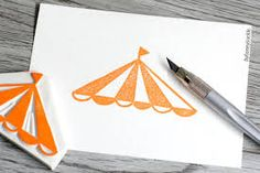 Image result for circus rubber stamps