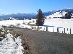 Beautiful #snow blanketed scenery in northern #Manawatu, #NZ #newzealand #blog #thecountryroad
