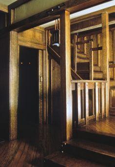 Bungalow interior, Pat & Noel Thomas