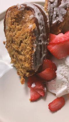 Vegan Sweet Potato Sour Cream Cake — The Great Full Girl Southern Sweet Potato Recipe, Vegan Sweet Potato Recipes, Tasty Vegetarian Recipes, Veg Recipes, Fall Recipes, Healthy Recipes, Vegan Treats, Vegan Foods, Vegan Desserts