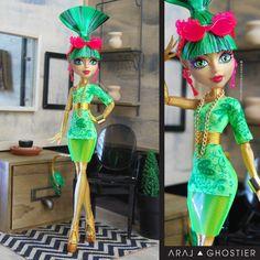 Monster Doll Dress Summer'geist Sizzling Jina by AralGhostier