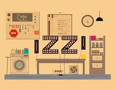 "Check out new work on my @Behance portfolio: ""Izzi logo"" http://be.net/gallery/57348403/Izzi-logo"
