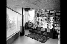 Cool Contemporary House with Wooden Cladding – Triangle House by JVA : Modern House With Wooden Cladding And White Wooden Wall Fireplace Big Window Sofa Carpet Bookcase And Ceramic Floor Wooden Cladding, Triangle House, Big Windows, Fireplace Wall, Corner Designs, Stores, New Homes, Interior Design, Home Decor