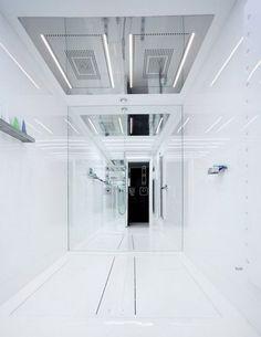luxury bathroom apartement interior