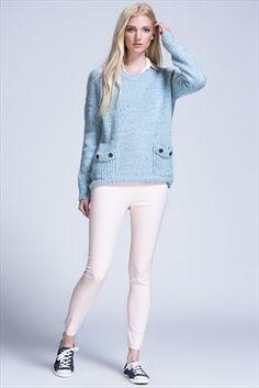 Dilvin - Stil Sahibi Kadının Kış Dolabı - Toz Pembe Pantolon 101A07610 %60 indirimle 59,99TL ile Trendyol da