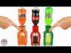 How to Build Mini LEGO Soda Dispensers (Coca-Cola, Mountain Dew, Fanta) - YouTube
