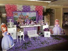 decoração de festa princesa sofia - Pesquisa Google