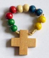 Single-decade rosaries or pocket rosary can easily be worn as a ring or carried, rosary rings are still popular and can be used any time to say a prayer. Catholic Store, Say A Prayer, Rosaries, Pocket, Rings, Board, Ring, Sign, Rosary Beads