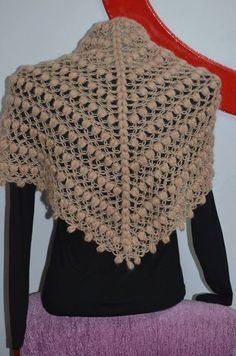Crochet Stitches Patterns, Stitch Patterns, Easy Crochet, Crochet Top, Knit Dress, Knitting, Handmade, Fashion, Long Scarf