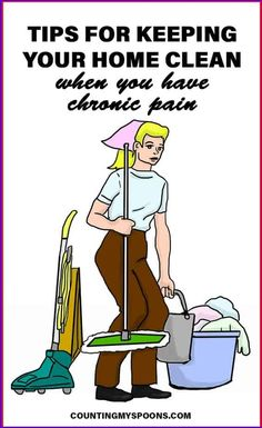 When you live with chronic migraines you can't just put off cleaning your home forever. Tips for keeping your house clean when you live with chronic migraines. Fibromyalgia Pain, Chronic Migraines, Chronic Fatigue, Chronic Illness, Chronic Pain Quotes, Self Advocacy, Crps, Invisible Illness, Pain Management