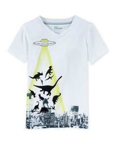 Epic Threads Little Boys' UFO Dino T-Shirt, Only at Macy's - Shirts & Tees - Kids & Baby - Macy's