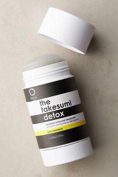Kaia Naturals The Takesumi Detox Bamboo Charcoal Deodorant