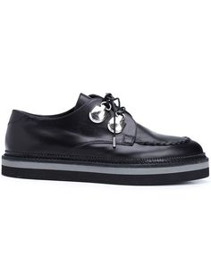 28284deedbc ALEXANDER MCQUEEN Lace-Up Creepers.  alexandermcqueen  shoes  flats Black  Creepers