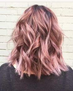 Beautiful Hair Color Inspiration 50 Rose Gold Hair Ideas