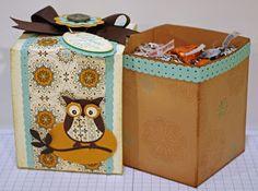 Tasha's Design World: Fall Gift Box Project