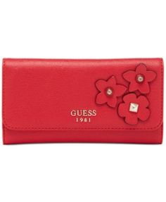 GUESS Liya Slim Clutch Boxed Wallet