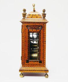 Bracket clock   Martin, John   Side View