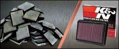 Les filtre à air K&N sont réutilisables et conçus pour être le dernier filtre à air que votre véhicule aura besoin.