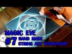 Ikea Hack String Art Table - YouTube