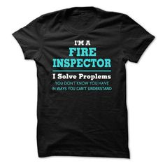 Awesome Fire Inspector T Shirts, Hoodies. Check price ==► https://www.sunfrog.com/LifeStyle/Awesome-Fire-Inspector-Tee-Shirts.html?41382 $19