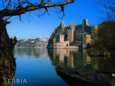 Serbia - Golubac fortress on Danube River