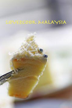 Snow Cheesecake.... Apple Turnover Recipe, Turnover Recipes, Apple Turnovers, Angel Cake, Malaysian Food, Cheesecake, Snow, Asian, Breakfast