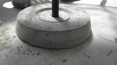 DIY Concrete Umbrella Stand- Christina and Ted Buy a House BLOG