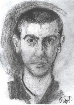 Self-Portrait, 1907-1908 Richard Gerstl