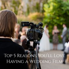 Top 5 Reasons You'll Love Having a Wedding Film featured on Burgh Brides