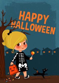 Happy Halloween! by Christine-E.deviantart.com on @deviantART
