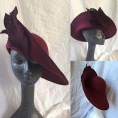 VIVIENNE BY TIFFANY AREY #millinery #hats #HatAcademy