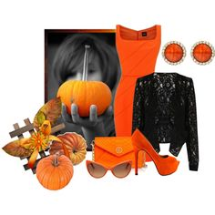 """Pumpkin - Orange"" by mary-rt on Polyvore"