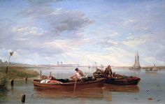 View of Greenwich Hospital and the River Thames Taken on the Isle of Dogs  Sir Augustus Wall Callcott