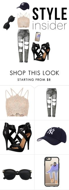 """""""Untitled #38"""" by http-txmmi on Polyvore featuring River Island, WithChic, Michael Antonio, Hartford and Casetify"""