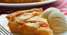 Chef John's Peach Pie Pie Pastry Recipe, Pie Crust Recipes, Pastry Recipes, Baking Recipes, Summer Desserts, Just Desserts, Dessert Recipes, Fluff Desserts, Dishes Recipes