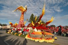 Image detail for -2010 Donate Life Rose Bowl Parade Float Inspired by National Donor ...