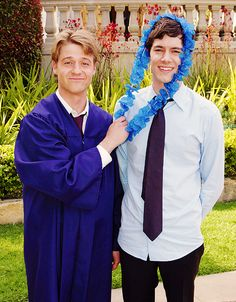 Ryan Atwood and Seth Cohen