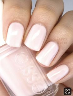 Essie Pink Nail Polish Awesome Looking for A Classic Sheer Milky Pink Nail Polis. - Essie Pink Nail Polish Awesome Looking for A Classic Sheer Milky Pink Nail Polish for - Pink Gel, Pale Pink Nails, Light Pink Nails, Pink Light, Blush Pink, Milky Nails, Uñas Fashion, Nagellack Trends, Round Nails