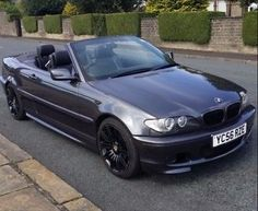 BMW convertible M sport E46 Cabrio, Street Racing Cars, Race Cars, Convertible, Euro, Bmw, Vehicles, Sports, Style