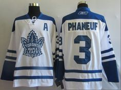 NHL Jerseys Toronto Maple Leafs Dion Phaneuf  3 White 26dd5cc70