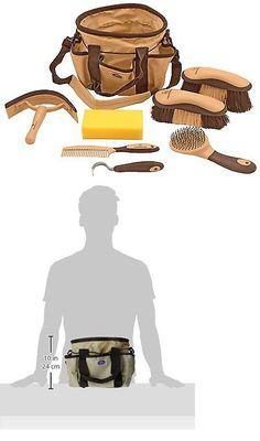 Grooming Kits 183400: Horse Grooming Kit Ringside 8 Piece Brush Set Tote Bag Derby Gift Beginners New -> BUY IT NOW ONLY: $72.55 on eBay!