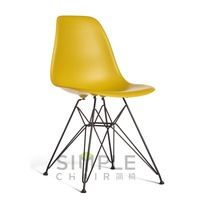 plastic chairs sale with metal legs without arms